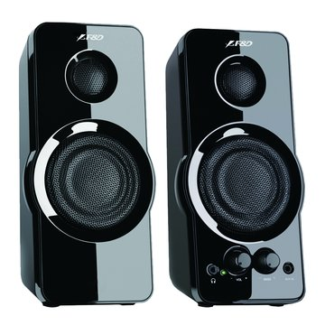 F232/黑/二件式喇叭(福利品出清)
