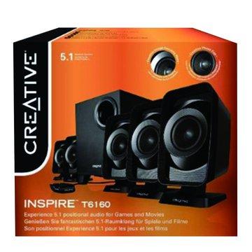 Inspire T6160/黑/六件式喇叭(福利品出清)