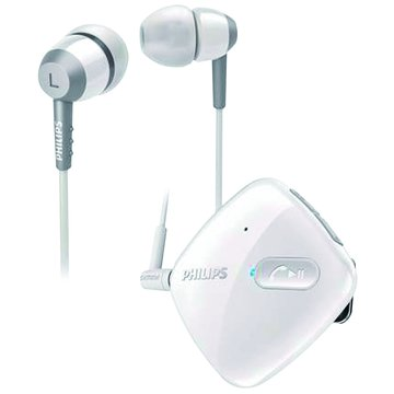 SHB5000(白)藍牙立體聲入耳式耳麥(福利品出清)