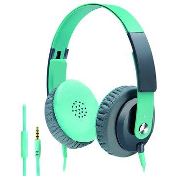 S15(綠)線控接聽頭戴耳機麥克風(福利品出清)