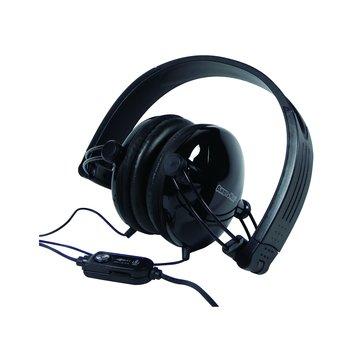 AM-212花心折疊(黑)頭戴式耳麥(線麥)