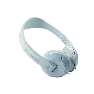 GL-100酷氣猴街舞(白)頭戴式耳麥(福利品出清)