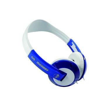 GL-100酷氣猴街舞(藍)頭戴式耳麥(福利品出清)