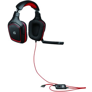 Logitech 羅技 G230遊戲頭戴式耳機麥克風 (福利品出清)