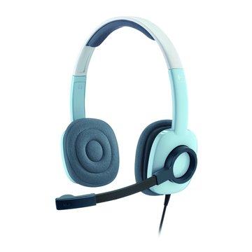 H250(藍)頭戴式耳機麥克風(福利品出清)