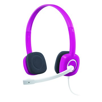 Logitech 羅技 H150(紅)頭戴式耳機麥克風(福利品出清)