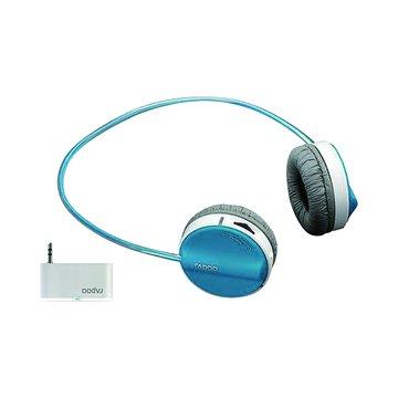 H3070(藍)2.4G無線耳機麥克風(福利品出清)