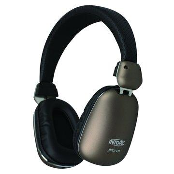 INTOPIC 廣鼎 JAZZ-515(咖啡)高音質耳機麥克風