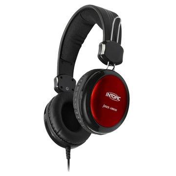 JAZZ-UB650(紅)USB頭戴式耳機麥克風