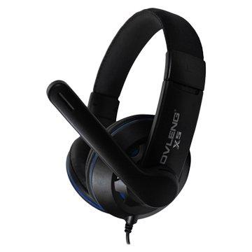 iCooby  X5 (黑藍)立體聲頭戴式耳機(福利品出清)