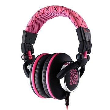 Thermaltake 曜越 CHAO潮傳奇DRACCO(粉紅)電競耳機經典款(福利品出清)