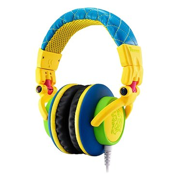 Thermaltake 曜越 CHAO潮傳奇DRACCO(黃)電競耳機經典款(福利品出清)