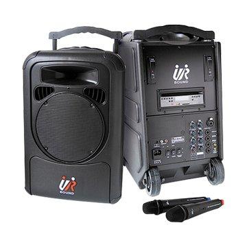 UR SOUND PA9223N雙頻移動式無線擴音機