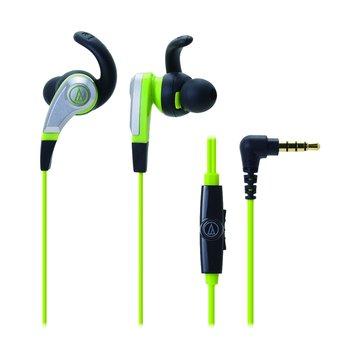 CKX5iS(綠)通話用耳道式耳機(福利品出清)
