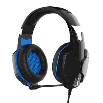 KWORLD 廣寰 K3000(黑藍)玩家電競耳麥