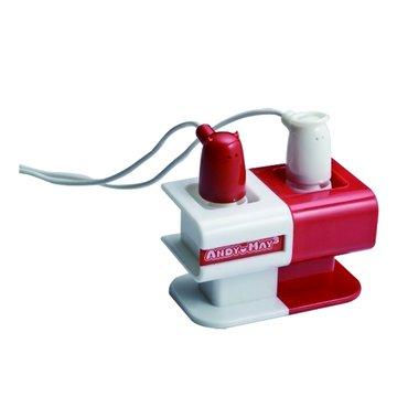 AM-326愛戀天使(紅)深耳耳機(福利品出清)