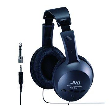 HA-G101(黑)立體聲全罩式耳機(福利品出清)
