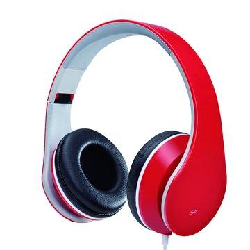 G3(紅)摺疊高音質全罩耳機(福利品出清)