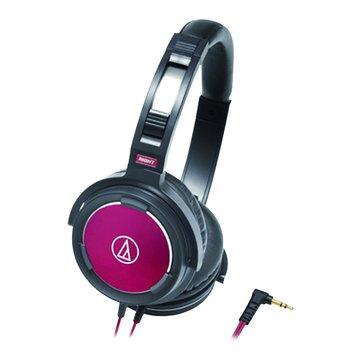 audio-technica 鐵三角 WS55 BRD(黑紅)頭戴式耳機