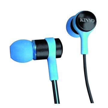 KINYO 金葉 EMP-70BU(藍)繽紛時尚立體聲耳機