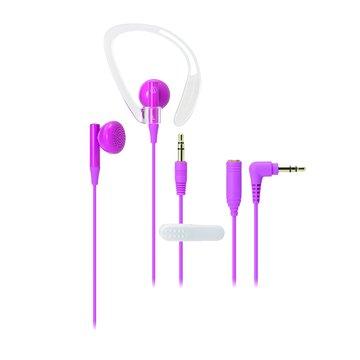 audio-technica 鐵三角 CP200PK(粉紅)運動耳塞/耳掛式耳機(福利品出清)