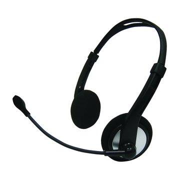 S006(銀黑)頭戴式耳機麥克風(福利品出清)