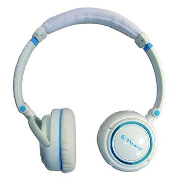 M610(白藍)頭戴式耳機(福利品出清)