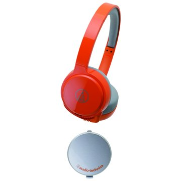WM77(橘)攜帶型頭戴式耳機 (福利品出清)