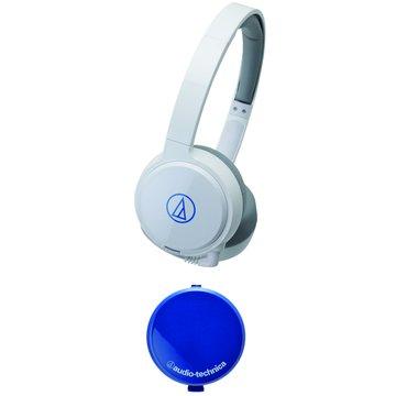 WM77(白)攜帶型頭戴式耳機 (福利品出清)