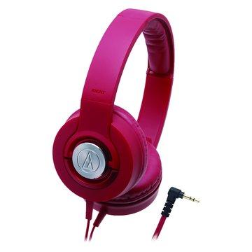 WS33X RD(紅)攜帶式耳機(福利品出清)