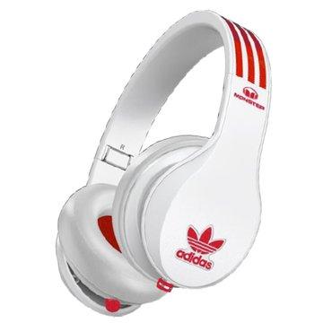 Monster Adidas(紅白)耳罩式耳機(福利品出清)