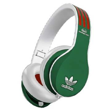 Monster Adidas(綠紅白)耳罩式耳機(福利品出清)