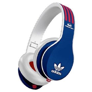 Monster Adidas(藍紅白)耳罩式耳機(福利品出清)