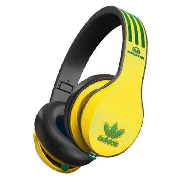 Monster Adidas(黃黑)耳罩式耳機(福利品出清)