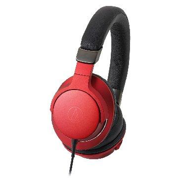 audio-technica 鐵三角 AR5 RD(紅)攜帶頭戴式耳機