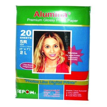 Alumina 5R亮面防水相紙