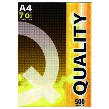 QUALITY  A4多功能500張70磅(黃包)