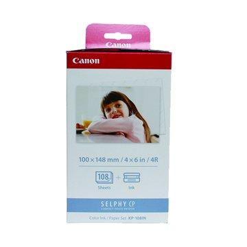 Canon KP-108IN(4*6相片紙108張+色帶3個)