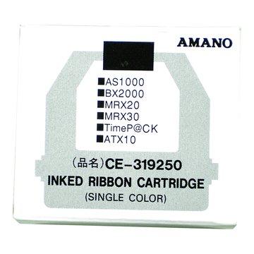 AMANO 天野 CE-315250打卡鐘色帶(紅黑雙色)