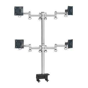 FOGIM  夾桌懸臂式液晶螢幕支架(四螢幕)