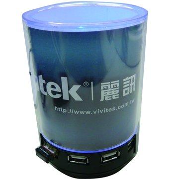 VIVITEK 贈品USB HUB+5W 喇叭