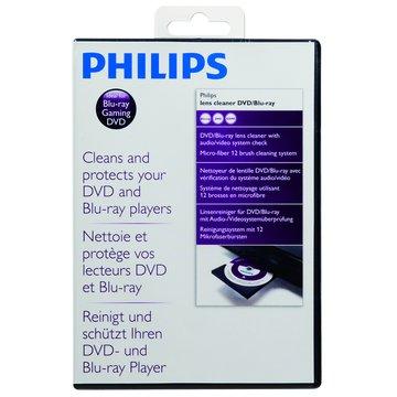Philips DVD藍光磁頭清潔片