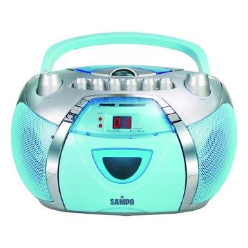 SAMPO AK-W719L 手提式CD音響(福利品出清)