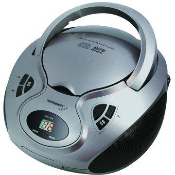 WONDER 旺德電通 WD-7208 旺德手提CD音響(福利品出清)