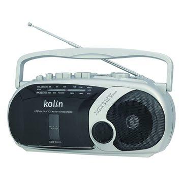 kolin KCD-W1112手提式收錄音機(福利品出清)
