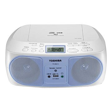 TY-CRU12TW USB/CD/MP3/FM手提音響