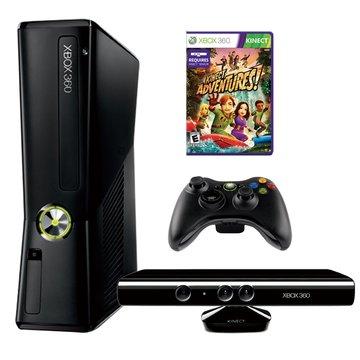 XBOX360 4GB主機 + Kinect(福利品出清)