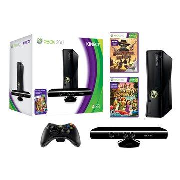 XBOX360 4GB Kinect 歡樂包 2011(福利品出清)