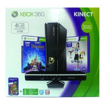 XBOX360 4GB + Kinect(福利品出清)