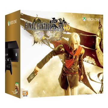 XBOX ONE 500G Final Fantasy 零式 HD經典